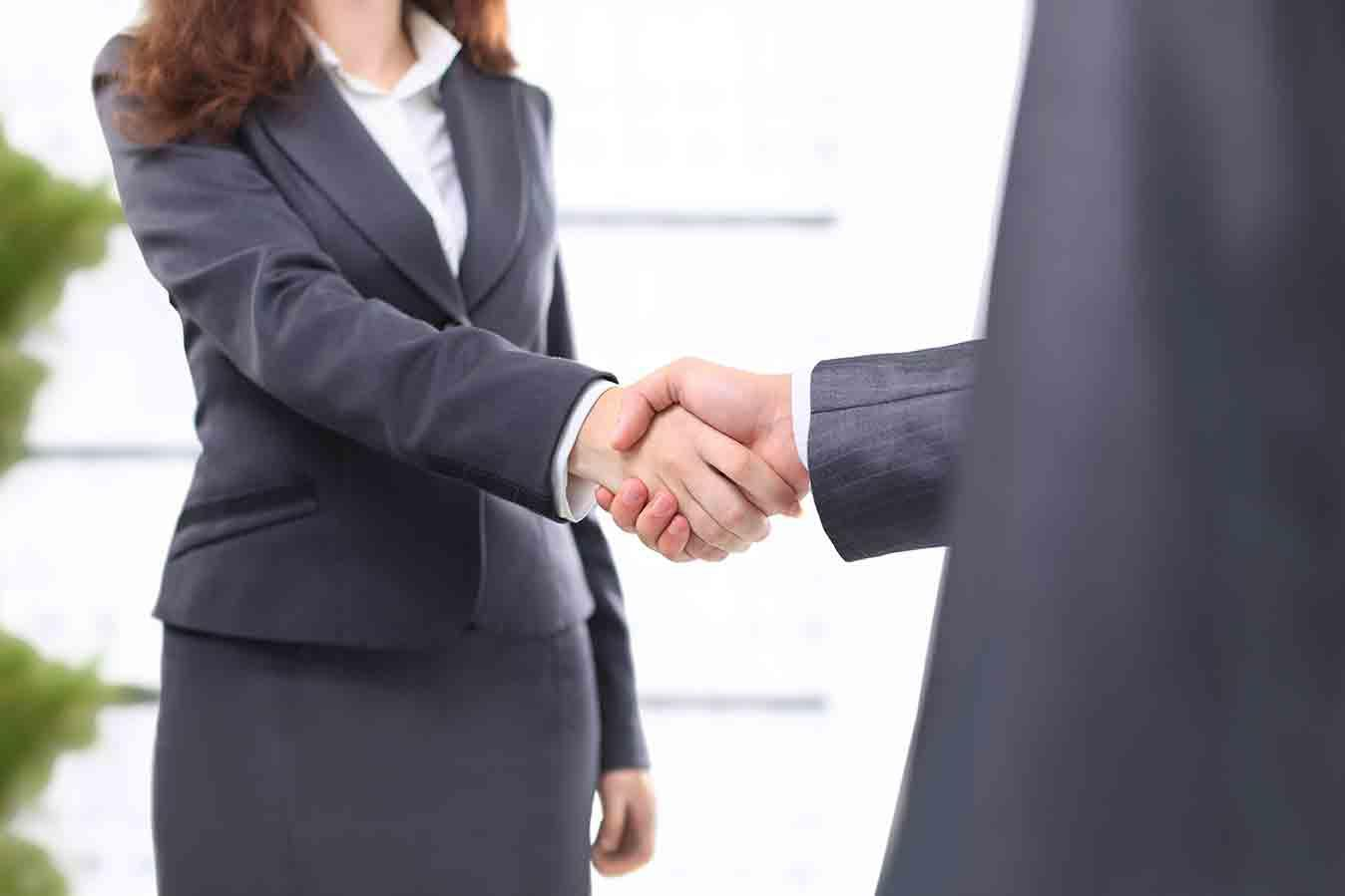 Management handshake